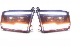 XB Led Headlights /w Running Lights