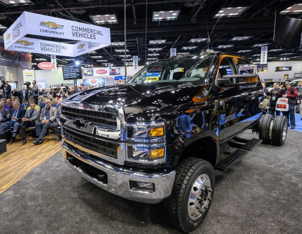 New 2019 Chevrolet Silverado 4500HD, 5500HD, and 6500HD