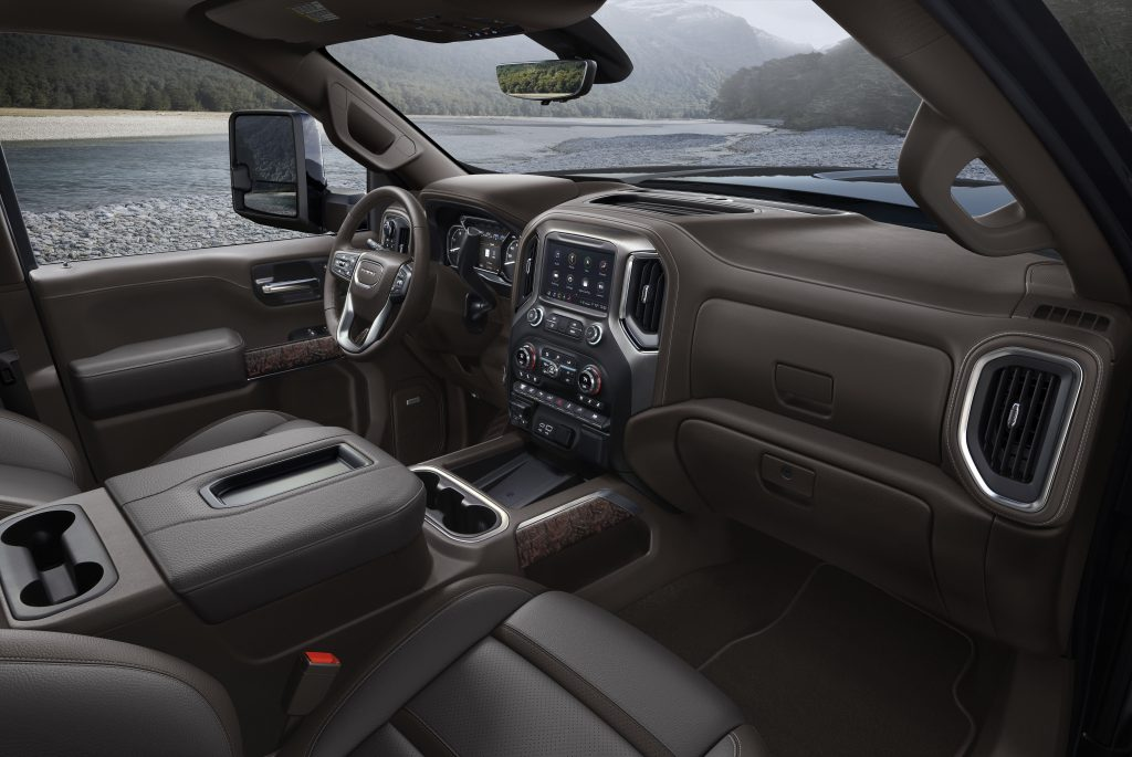 2020 GMC Sierra HD Denali Interior Side View