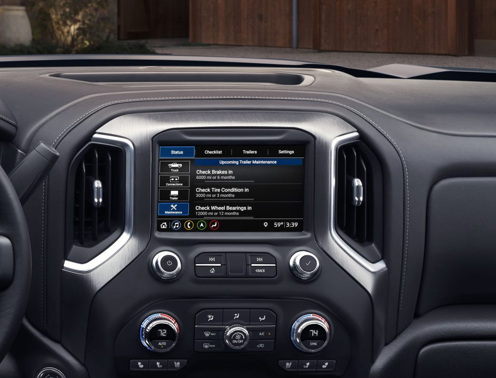 New 2020 GMC Sierra HD Denali Interior, Entertainment system