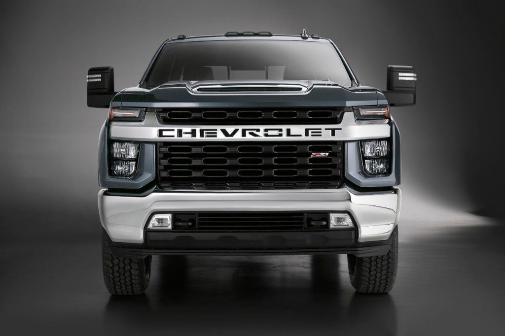 2020 Chevrolet Silverado HD Duramax Front End