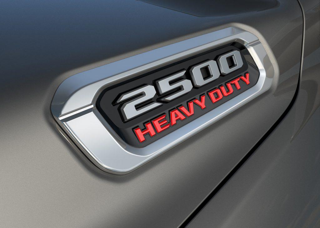 2019 Ram 2500 Badge
