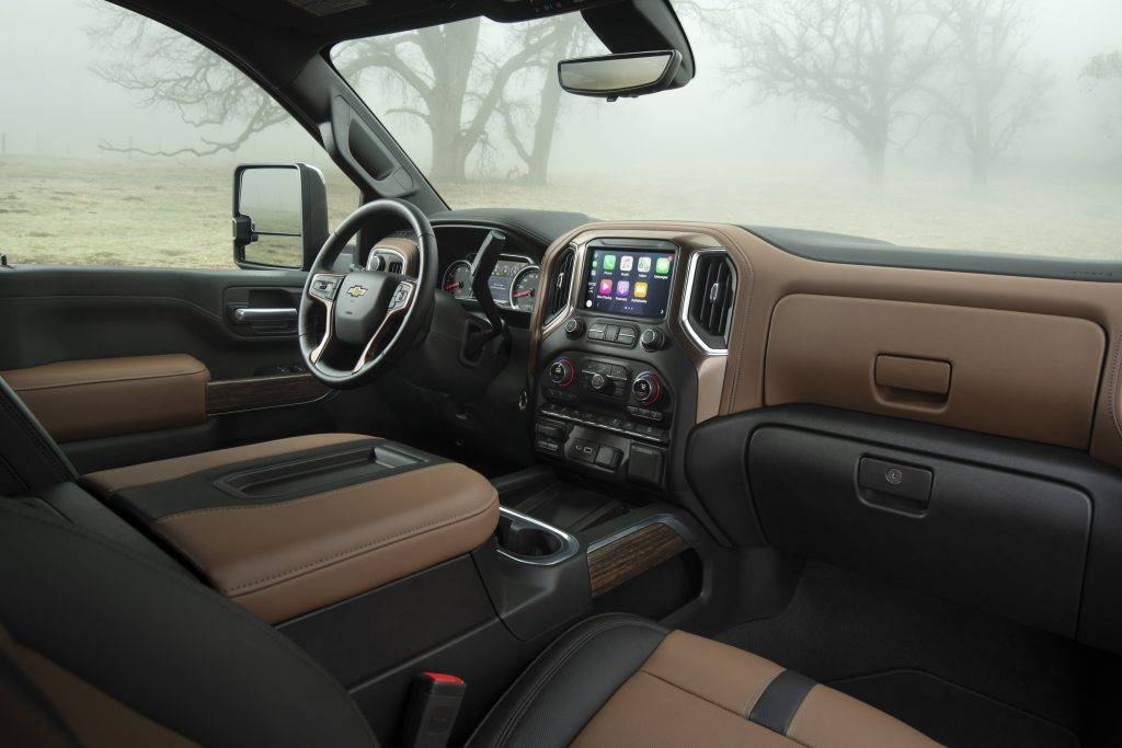 2020 Chevrolet Silverado HD Interior