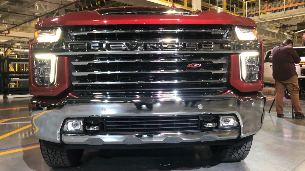 2020 Chevrolet SIlverado HD Grille