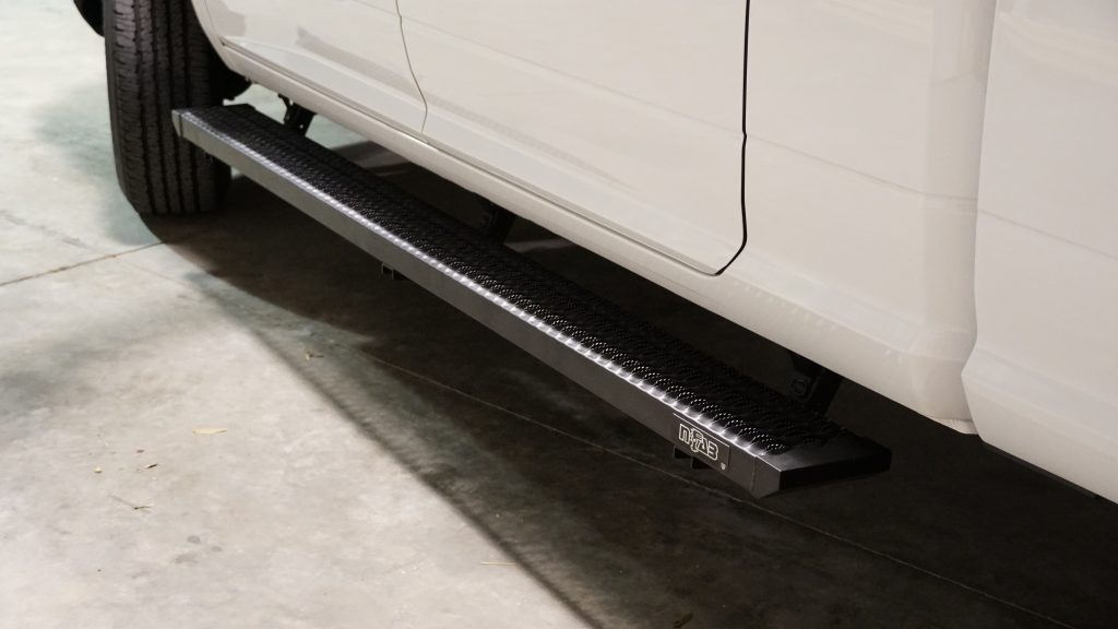 N-Fab Growler Step System on 2018 Ram 2500