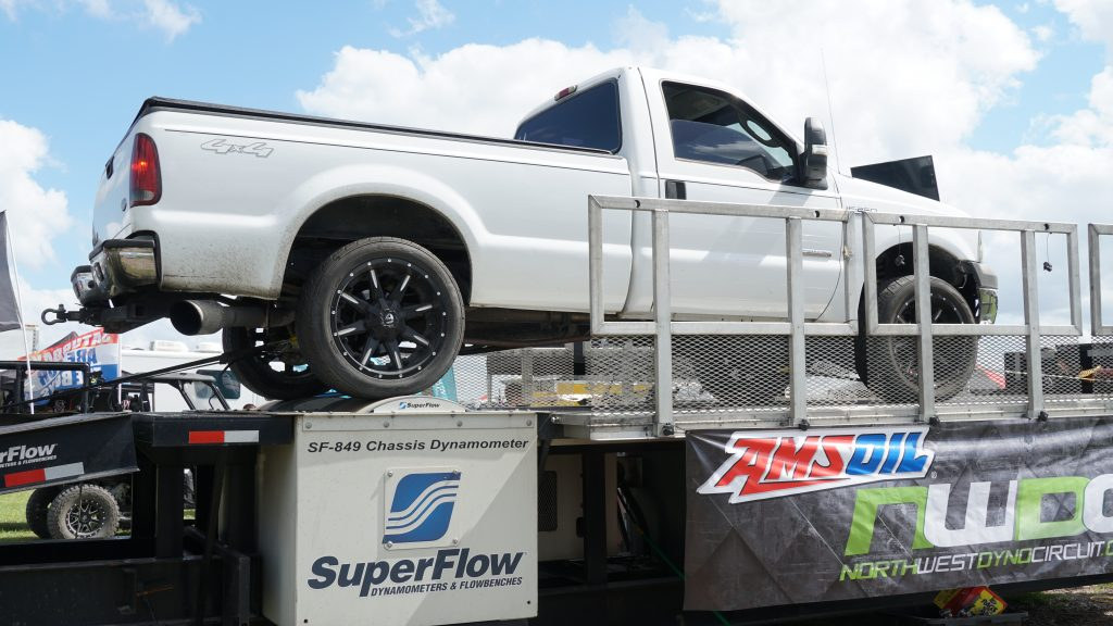 Diesels In The Swamp 2019 Powerstroke on dyno
