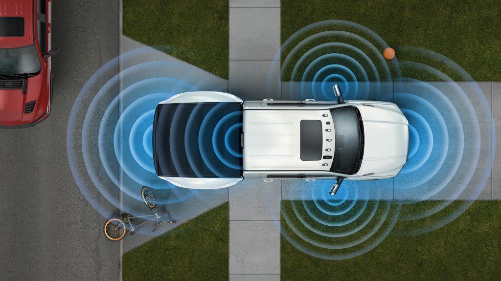 360 Degree Camera and proximity sensors on 2019 Ram HD trucks