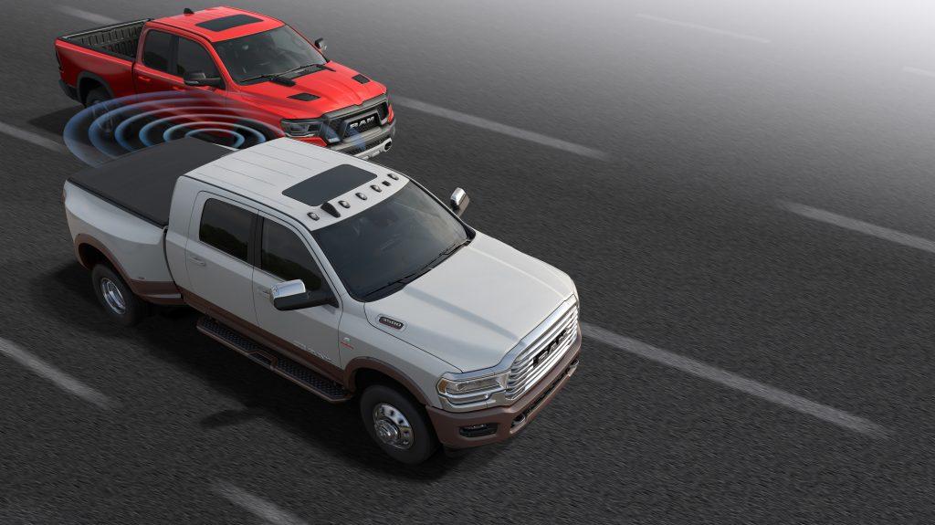 Blind Spot Monitoring 2019 Ram HD Trucks