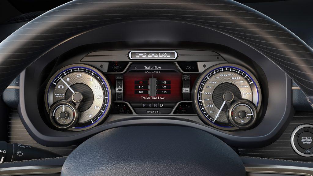2019 Ram Heavy Duty Trucks Trailer Tire Pressure Monitoring system