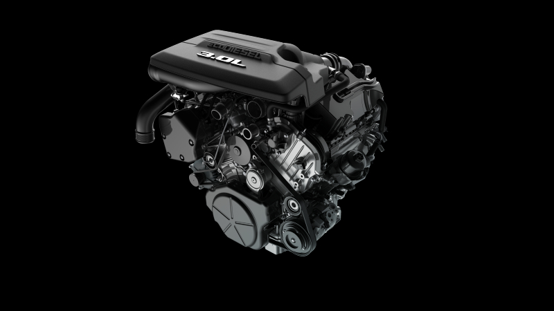 2020 3.0L V-6 EcoDiesel Engine