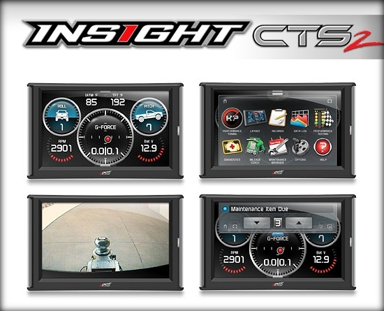 Edge CTS2 Insight Gauge Display