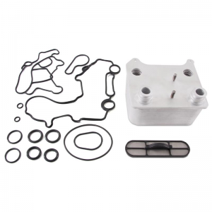Oil Cooler Kit for 6.0L Powerstroke from Mishimoto