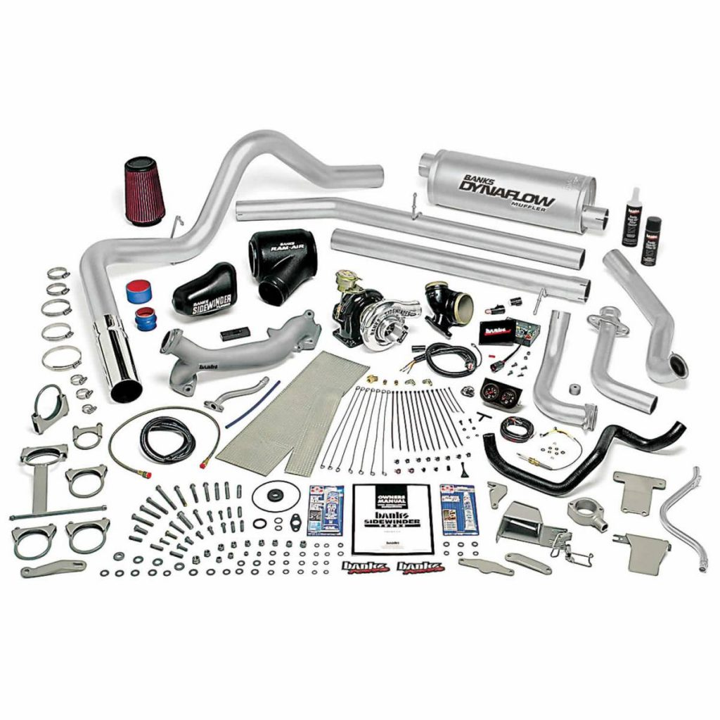 Banks 6.9L IDI Diesel Sidewinder turbocharger kit