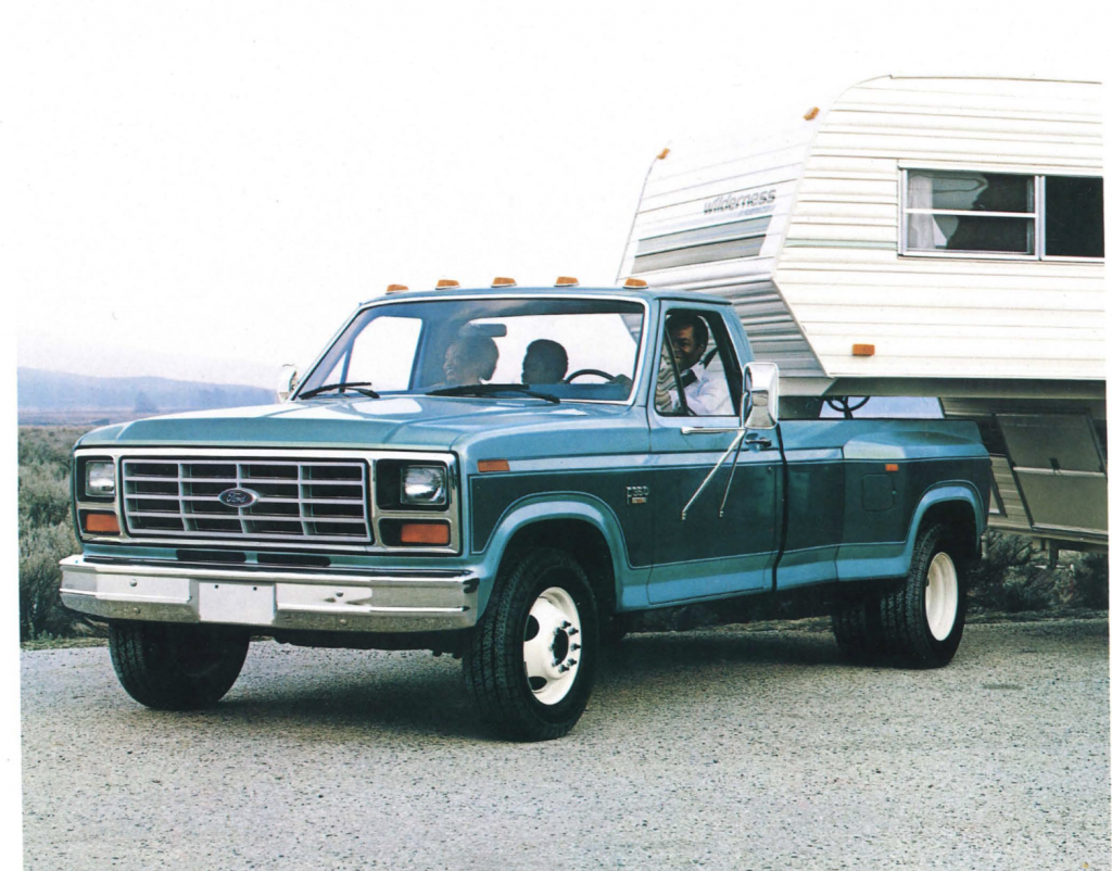 Ford 6.9L IDI Towing Specifications
