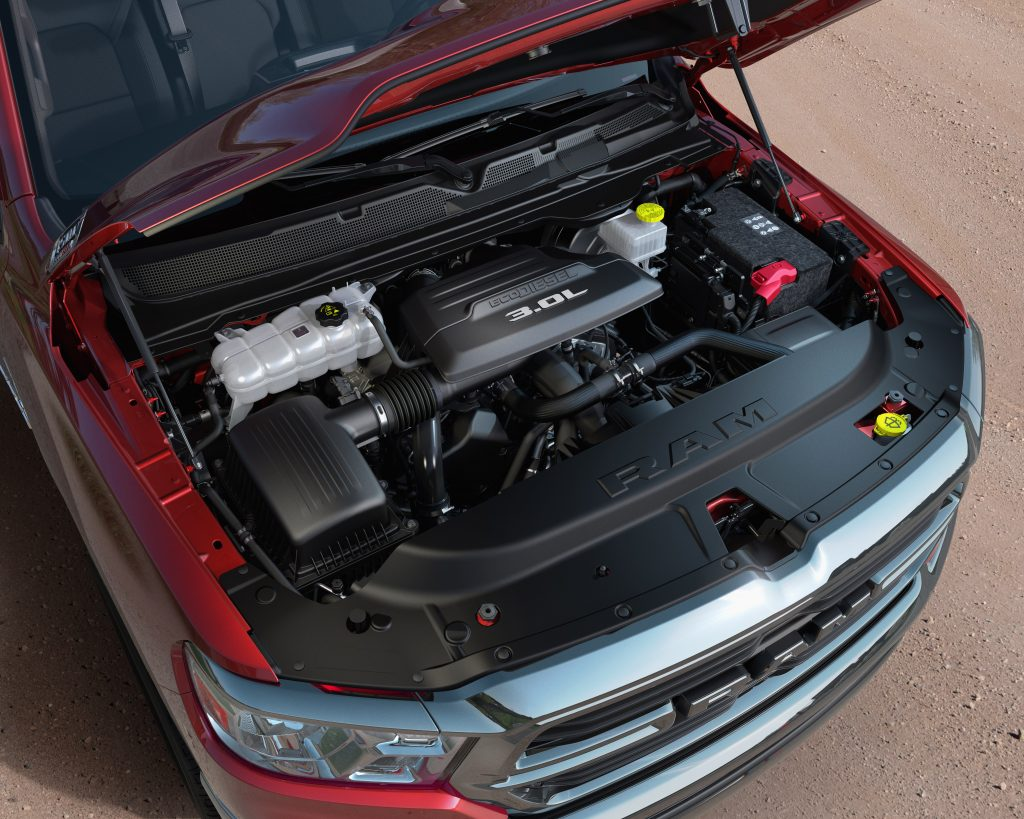 Ram 1500 with the 3.0L EcoDiesel Engine