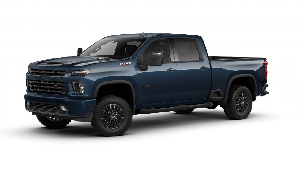 what's new about the 2021 chevrolet silverado 2500hd