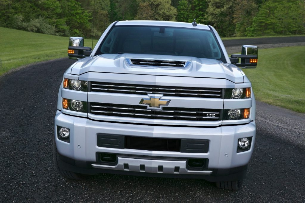 In 2017, the L5P Duramax Diesel engine is introduced on GMC and Chevy HD