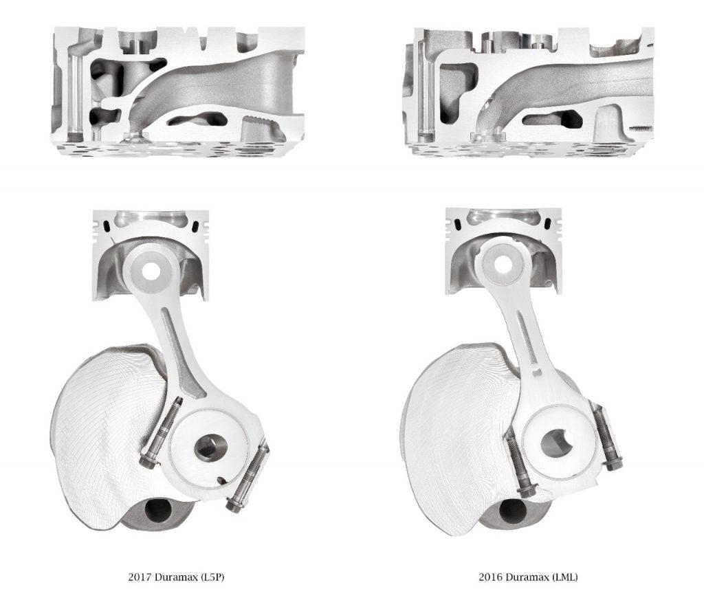 6.6L L5P Duramax Engine Components Compared to 6.6L LML Duramax