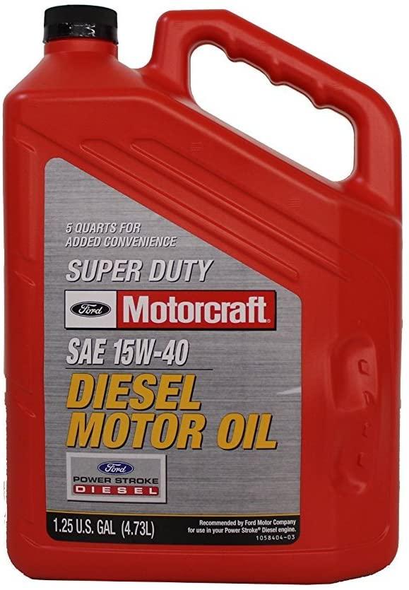 6.4L Powerstroke Engine Oil : Motorcraft 15W-40 Diesel Motor Oil