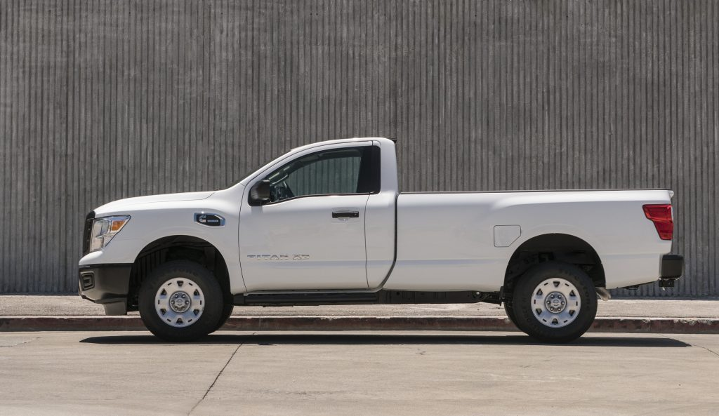 2017 Nissan Titan XD single cab diesel truck