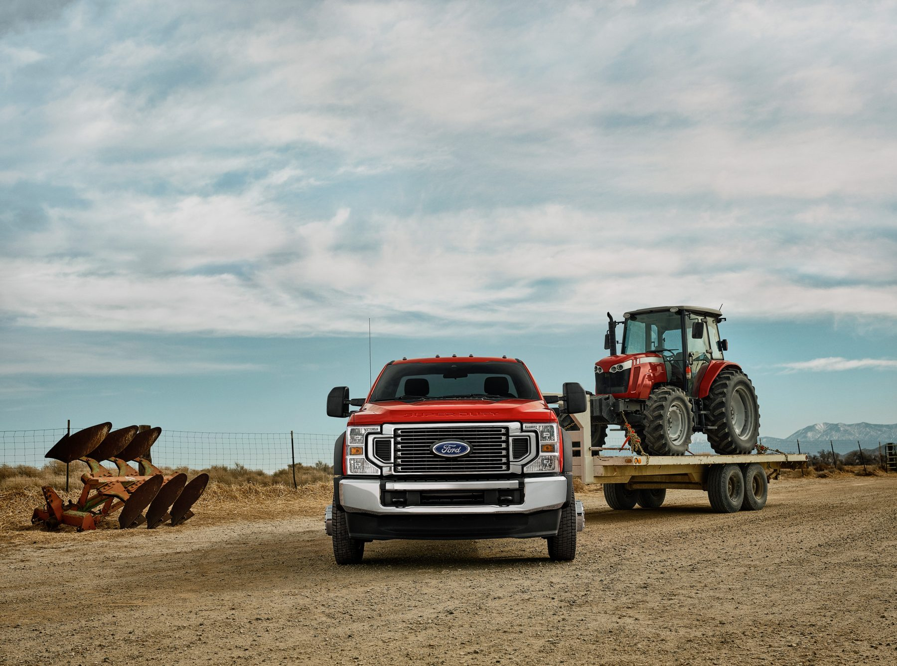 2021 Ford F-450 6.7L Powerstroke Towing