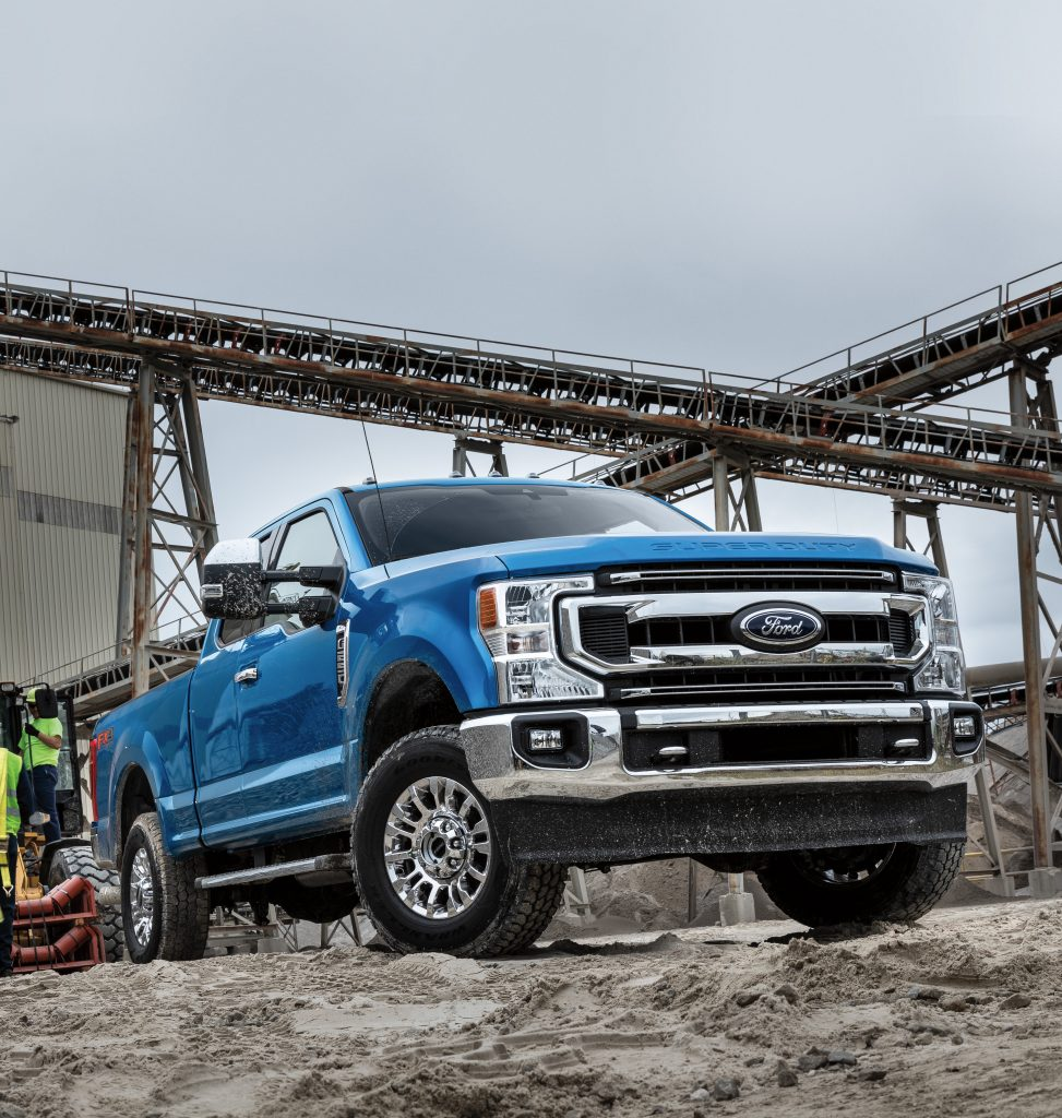 2021 6.7L Powerstroke Supercab Towing Specs